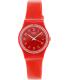 Swatch Women's Originals LR127 Red Plastic Swiss Quartz Watch - Main Image Swatch
