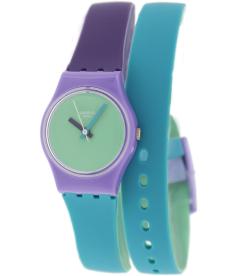 Swatch Women's Originals LV117 Green Silicone Swiss Quartz Watch