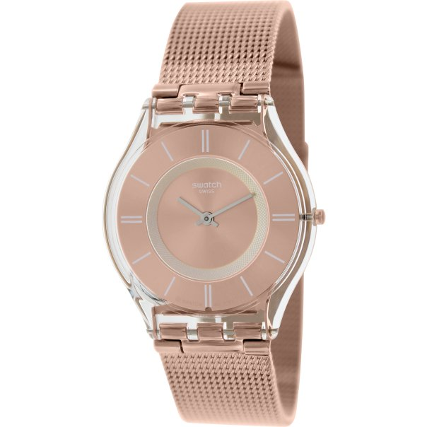 swatch s skin sfp115m gold stainless steel
