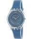 Swatch Women's Skin SFS103 Blue Silicone Swiss Quartz Watch - Main Image Swatch