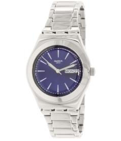 Swatch Women's Irony YLS713G Blue Stainless-Steel Swiss Quartz Watch