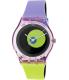 Swatch Women's Originals GP143 Multicolor Rubber Swiss Quartz Watch - Main Image Swatch