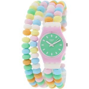 Swatch Women's Originals LP135B Multicolor Plastic Swiss Quartz Watch