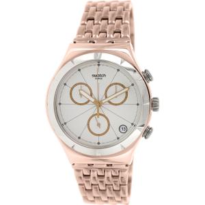 Swatch Men's Irony YCG408G Rose Gold Stainless-Steel Swiss Quartz Watch