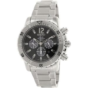 Seiko Men's SSC223 Grey Stainless-Steel Quartz Watch