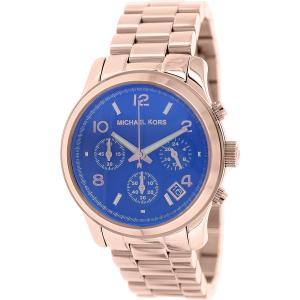 Michael Kors Women's Runway MK5940 Rose-Gold Stainless-Steel Quartz Watch