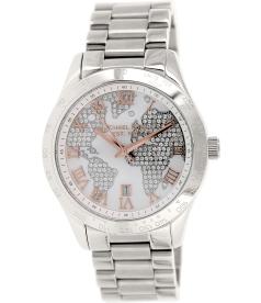 Michael Kors Women's Layton MK5958 Silver Stainless-Steel Quartz Watch