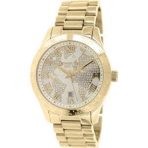 Michael Kors Women's Layton MK5959 Gold Stainless-Steel Quartz Watch