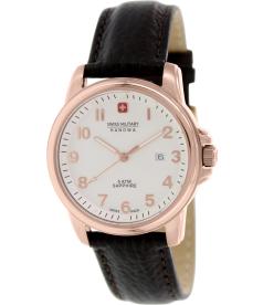 Swiss Military Hanowa Men's 06-4141-1-09-001 White Leather Swiss Quartz Watch