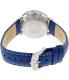 Bulova Men's Accutron II 96B204 Blue Leather Quartz Watch - Back Image Swatch