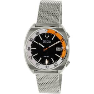 Bulova Men's Accutron Ii 96B208 Silver Stainless-Steel Quartz Watch