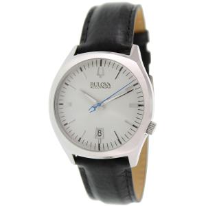 Bulova Men's Accutron II 96B213 Black Leather Quartz Watch