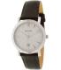 Bulova Men's Classic 96B217 Silver Leather Quartz Watch - Main Image Swatch