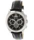 Bulova Men's Classic 96B218 Black Leather Quartz Watch - Main Image Swatch