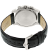 Bulova Men's Classic 96B218 Black Leather Quartz Watch - Back Image Swatch
