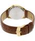 Bulova Men's Accutron II 97B132 Brown Leather Quartz Watch - Back Image Swatch