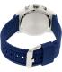 Bulova Men's Sport 98B200 Blue Rubber Quartz Watch - Back Image Swatch