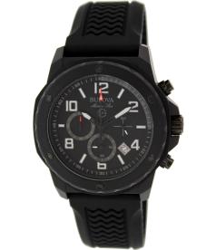 Bulova Men's Sport 98B223 Black Rubber Quartz Watch
