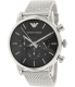 Emporio Armani Men's Classic AR1811 Silver Stainless-Steel Quartz Watch - Main Image Swatch