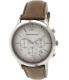 Emporio Armani Men's Classic AR2471 Brown Leather Analog Quartz Watch - Main Image Swatch
