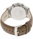 Emporio Armani Men's Classic AR2471 Brown Leather Analog Quartz Watch - Back Image Swatch