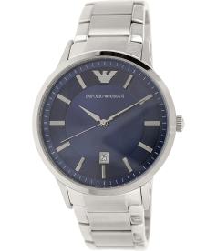 Emporio Armani Men's Classic AR2477 Blue Stainless-Steel Analog Quartz Watch