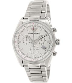 Emporio Armani Men's Sportivo AR6013 Silver Stainless-Steel Quartz Watch