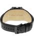 Black Dice Men's Graduate BD-070-01 Black Leather Analog Quartz Watch - Back Image Swatch