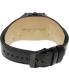 Black Dice Men's Graduate BD-070-02 Black Leather Analog Quartz Watch - Back Image Swatch