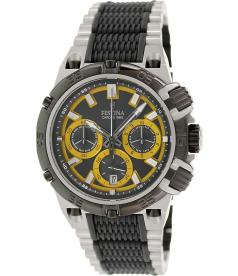 Festina Men's Chrono Bike F16775/7 Black Stainless-Steel Quartz Watch
