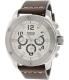Fossil Men's Modern Machine FS4929 Brown Leather Analog Quartz Watch - Main Image Swatch