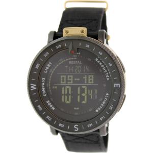 Vestal Men's Guide GDEDP06 Digital Nylon Quartz Watch