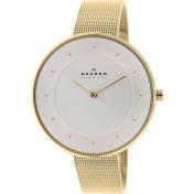 Skagen Women's Gitte SKW2141 Gold Stainless-Steel Quartz Watch