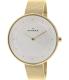 Skagen Women's Gitte SKW2141 Gold Stainless-Steel Quartz Watch - Main Image Swatch