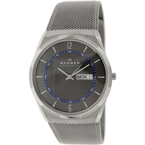 Skagen Men's Melbye SKW6078 Grey Stainless-Steel Quartz Watch