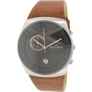 Skagen Men's Havene SKW6085 Brown Leather Quartz Watch