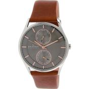 Skagen Men's Holst SKW6086 Brown Leather Quartz Watch