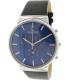 Skagen Men's Ancher SKW6105 Black Leather Analog Quartz Watch - Main Image Swatch