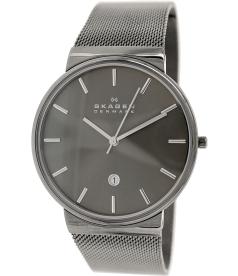 Skagen Men's Ancher SKW6108 Grey Stainless-Steel Quartz Watch