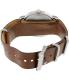 Timex Men's Weekender T2P495 Brown Leather Analog Quartz Watch - Back Image Swatch