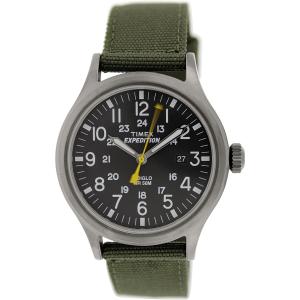 Timex Men's Expedition T49961 Green Nylon Analog Quartz Watch
