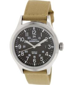 Timex Men's Expedition T49962 Black Nylon Analog Quartz Watch