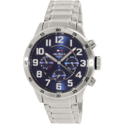 Tommy Hilfiger Men's 1791053 Silver Stainless-Steel Quartz Watch