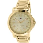 Tommy Hilfiger Women's 1781395 Gold Stainless-Steel Quartz Watch