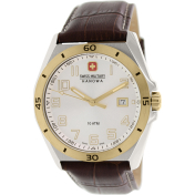 Swiss Military Hanowa Men's 06-4190-55-001 Brown Leather Swiss Quartz Watch