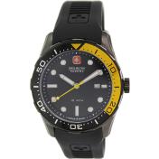 Swiss Military Hanowa Men's 06-4213-13-007-11 Black Rubber Swiss Quartz Watch