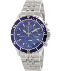 Swiss Military Hanowa Men's 06-5183-7-04-003 Blue Stainless-Steel Swiss Quartz Watch