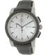 Hugo Boss Men's 1512978 Grey Leather Analog Quartz Watch - Main Image Swatch