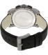 Hugo Boss Men's 1512978 Grey Leather Analog Quartz Watch - Back Image Swatch