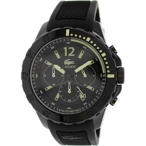 Lacoste Men's Fidji 2010740 Black Rubber Quartz Watch
